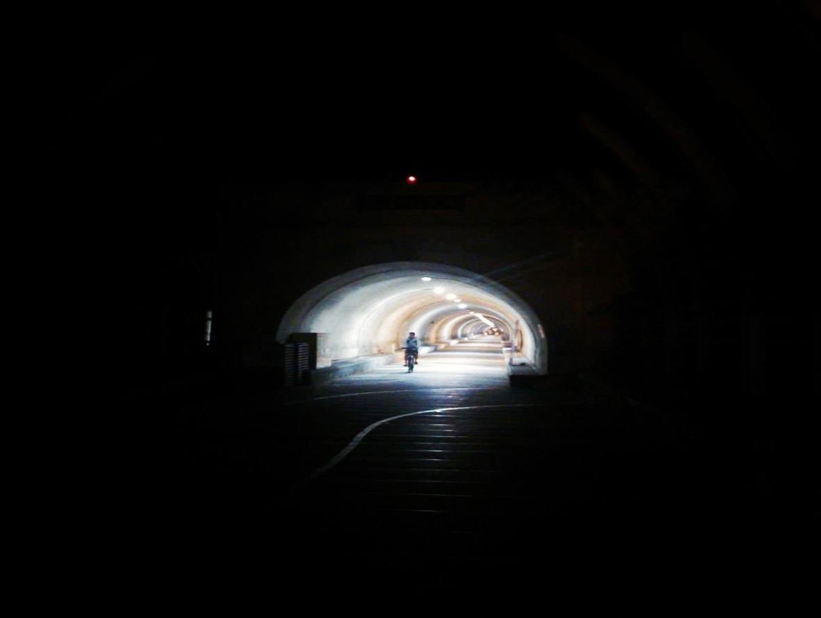 The tunnel photo