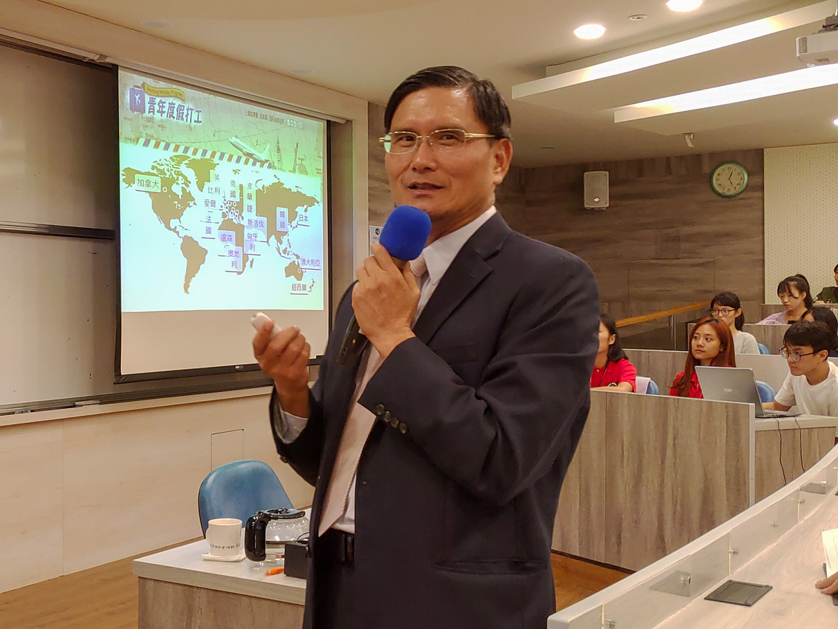 Director-General William Heng-sheng Chuang of the Southern Taiwan Office